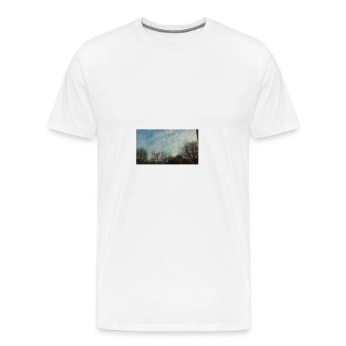 jersery winter sky - Men's Premium T-Shirt