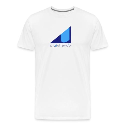 Blue crescendo - Men's Premium T-Shirt