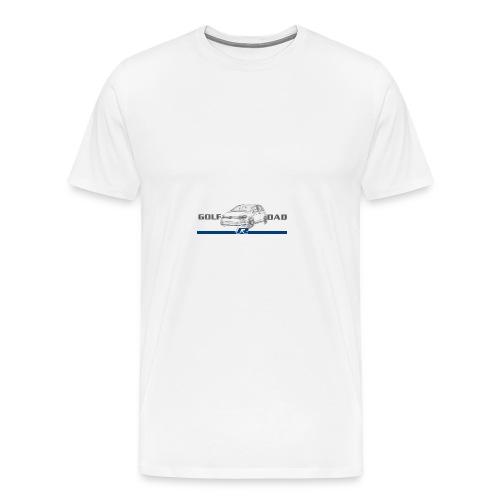 GolfRDad Fast Logo - Men's Premium T-Shirt