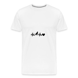 Cat Heart - Men's Premium T-Shirt