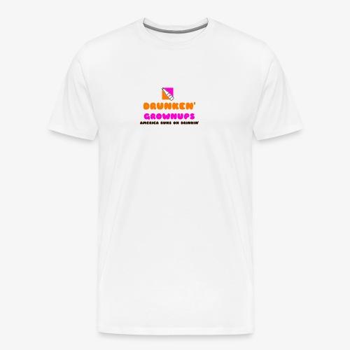 DRUNKEN GROWNUPS - Men's Premium T-Shirt