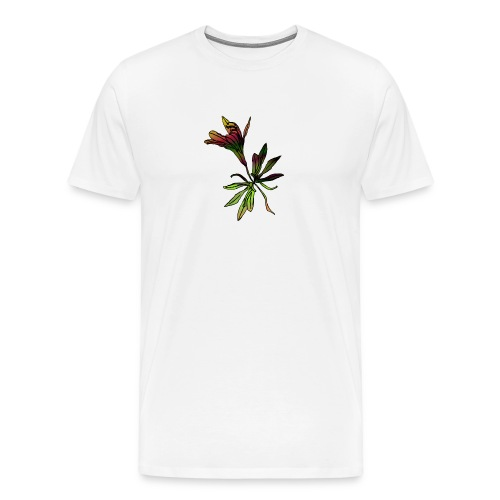 Gradient Flower - Men's Premium T-Shirt