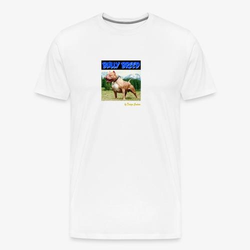 BULLY BREED BLUE - Men's Premium T-Shirt