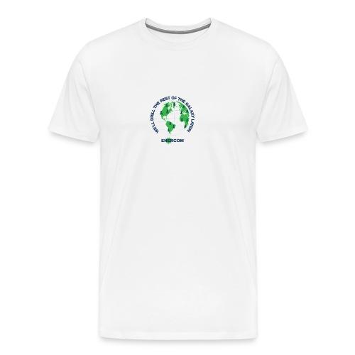 TEARTH FIRST BACK SIDE - Men's Premium T-Shirt