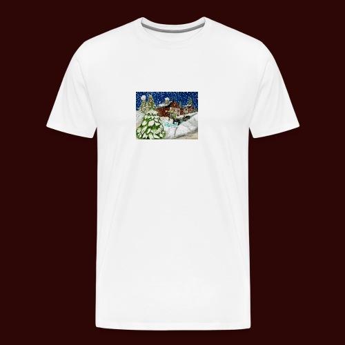 Old Christmas - Men's Premium T-Shirt