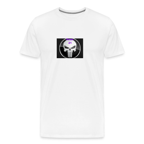 Team 21 white - Men's Premium T-Shirt