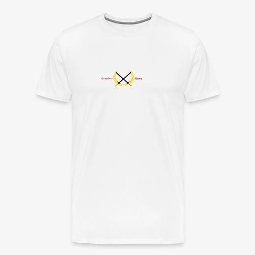 Crusaders United YouTube Logo - Men's Premium T-Shirt