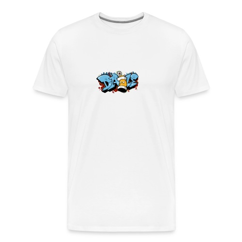 Graffiti Transparent PNG - Men's Premium T-Shirt