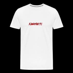 Red KingYheti Logo - Men's Premium T-Shirt