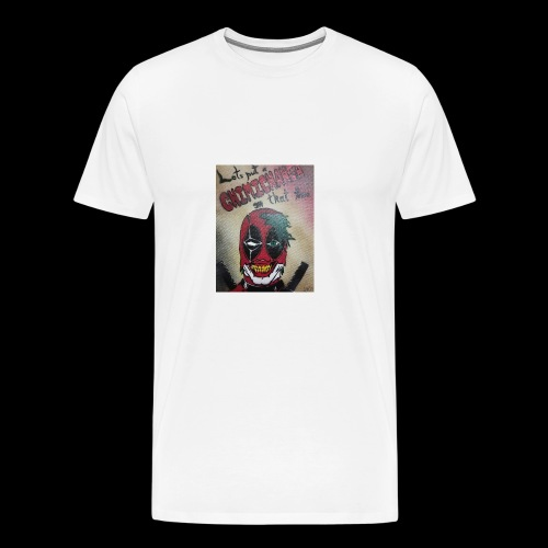 The Clown with a Mouth - Men's Premium T-Shirt