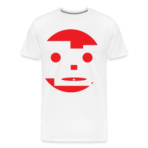 Crazy Face - Men's Premium T-Shirt