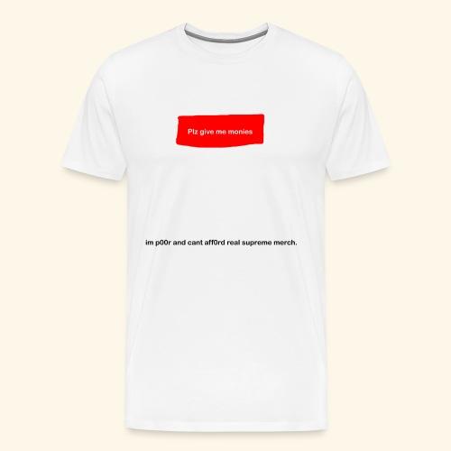 Fake Supreme Logo - Men's Premium T-Shirt