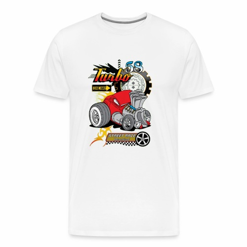 TURBO STREET RACE - Men's Premium T-Shirt