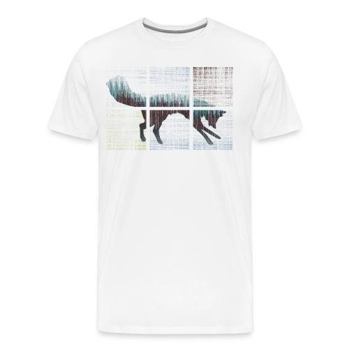 Fox Here - Men's Premium T-Shirt