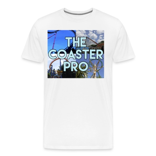 The Coaster Pro 4 Coaster Logo - Men's Premium T-Shirt