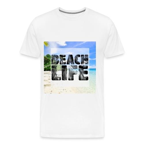 Beach Life Design - Men's Premium T-Shirt