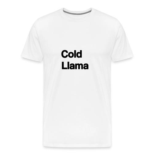 Cold Llama - Men's Premium T-Shirt