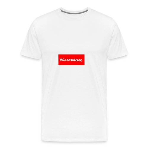 Llamahair merch - Men's Premium T-Shirt