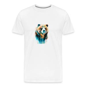 grizzly bear - Men's Premium T-Shirt