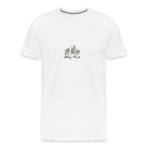 succulent - Men's Premium T-Shirt