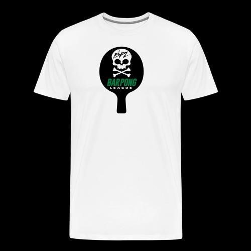 Bar Pong Paddle Logo - Men's Premium T-Shirt