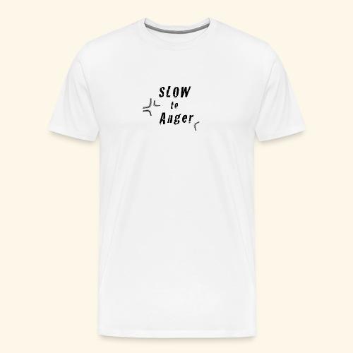 SlowToAnger - Men's Premium T-Shirt