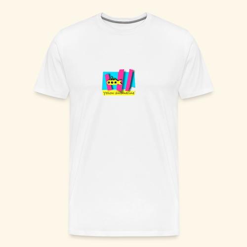 Yellow Submarine-CMKY - Men's Premium T-Shirt