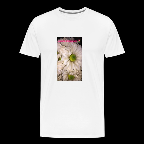 """Just Breathe "" in French - Men's Premium T-Shirt"