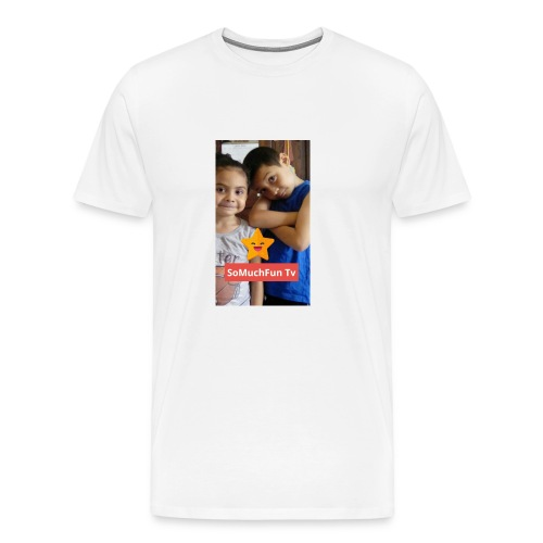 SoMuchFun tv be a star - Men's Premium T-Shirt