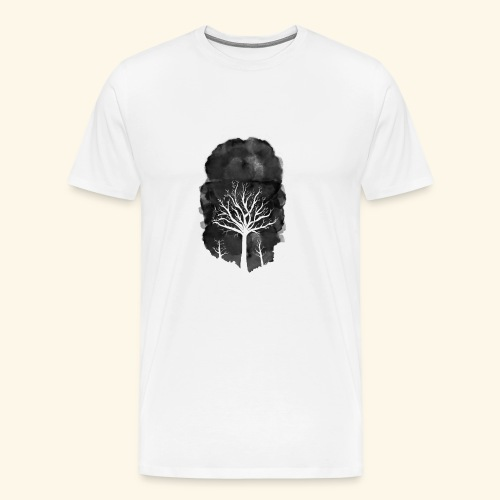Dead tree1 - Men's Premium T-Shirt