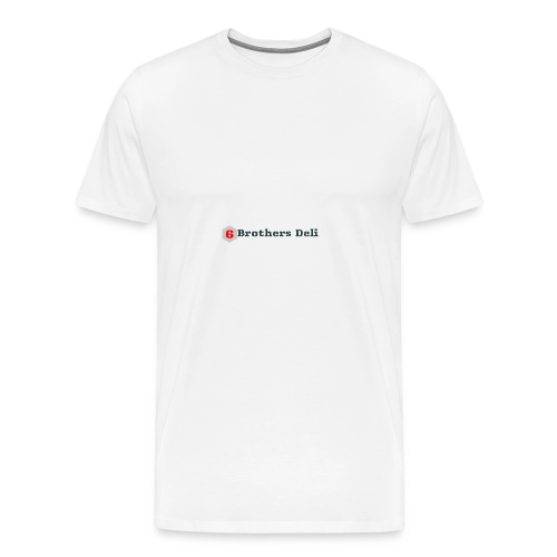 6 Brothers Deli - Men's Premium T-Shirt