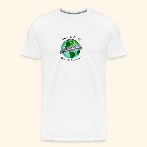 Save the Earth - Men's Premium T-Shirt