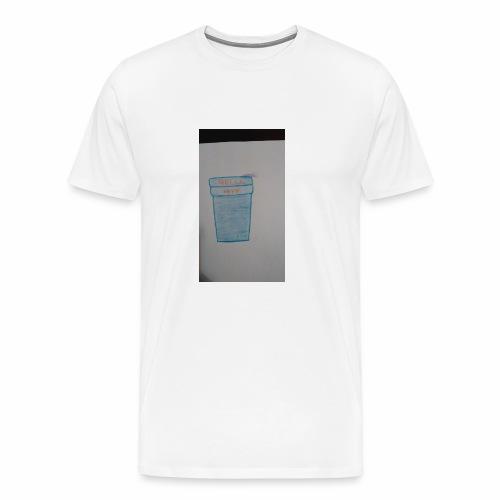 Purple acti - Men's Premium T-Shirt