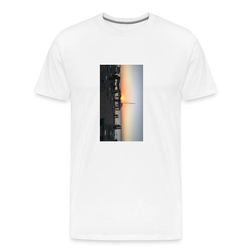 Sunset Admiration - Men's Premium T-Shirt