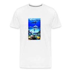 Dolphins world - Men's Premium T-Shirt