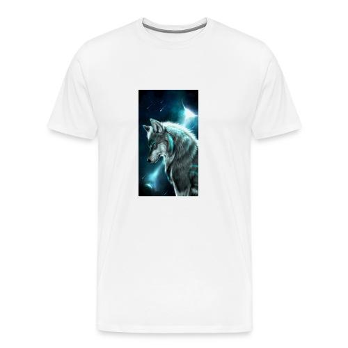 wolf f6a2f6ae df4e 3577 950c 689e0f4dd2d0 - Men's Premium T-Shirt