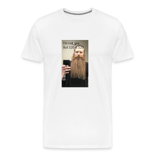 Bearded Homosexual - Men's Premium T-Shirt