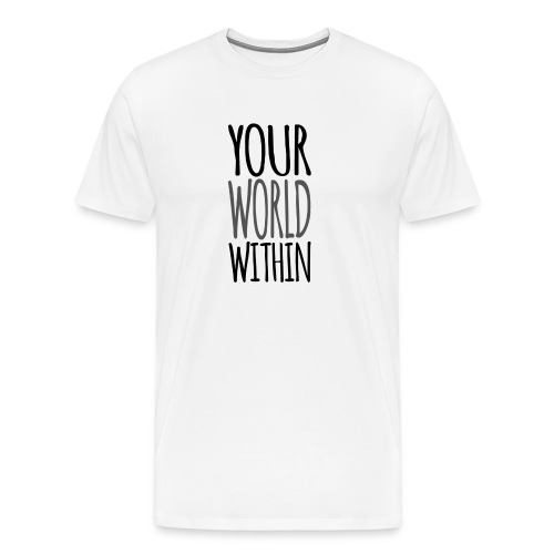 Handwritten Logo - Men's Premium T-Shirt