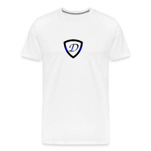 Dietz Foundation Thin Blue Line Badge - Men's Premium T-Shirt