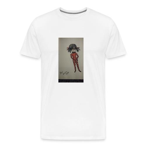 Anime lady bug design - Men's Premium T-Shirt