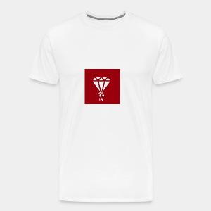 AIR MONEY PRODUCTIONz logo (red) - Men's Premium T-Shirt