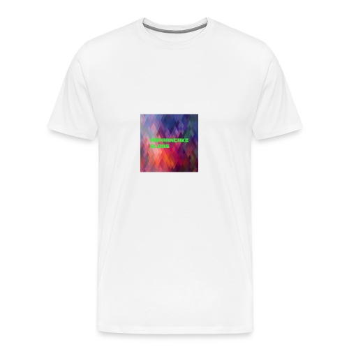 Official MrPaanake LOGO - Men's Premium T-Shirt