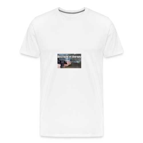 Best kind of therapy - Men's Premium T-Shirt