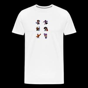 brawl stars layout - Men's Premium T-Shirt