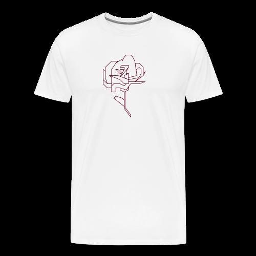 Abstract Rose - Men's Premium T-Shirt