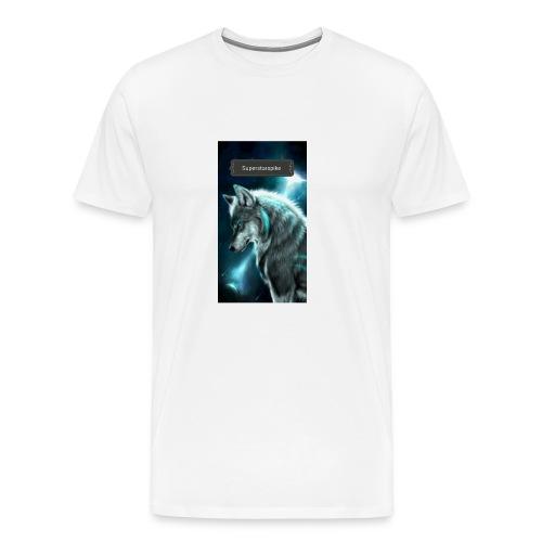 Superstarspike on youtube - Men's Premium T-Shirt