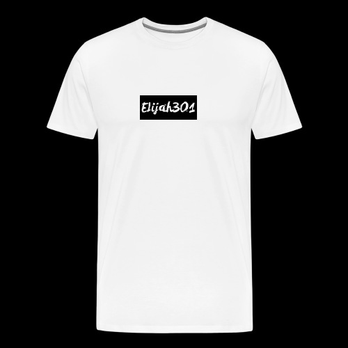 Elijah301BlackLogo - Men's Premium T-Shirt