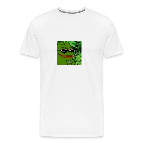 Smoke meme - Men's Premium T-Shirt