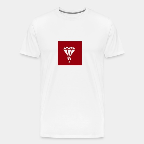 AIR MONEY PRODUCTIONz logo (red) - Men's Premium T-Shirt