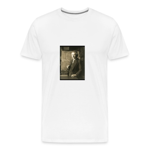Professor Einstein - Men's Premium T-Shirt